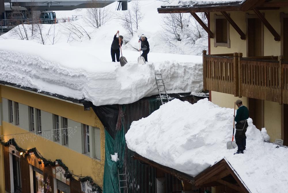 arrêt de neige